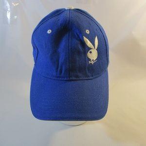 Vtg. Playboy Bunny Blue Cap/Hat